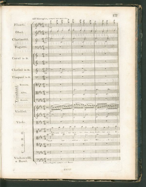 Symphony No. 9 in D minor, Op. 125, original edition