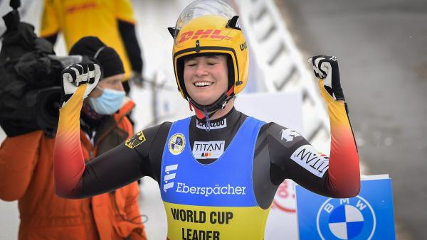 Die Münchnerin und frisch gebackene Mutter bejubelte damit den insgesamt 50. Weltcupsieg ihrer Karriere. Chapeau! (Foto: Dietmar Reker)