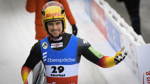 Der zweitbeste Deutsche auf Rang vier: Johannes Ludwig verpasste Bronze um nur ein Hundertstel. (Foto: Dietmar Reker)
