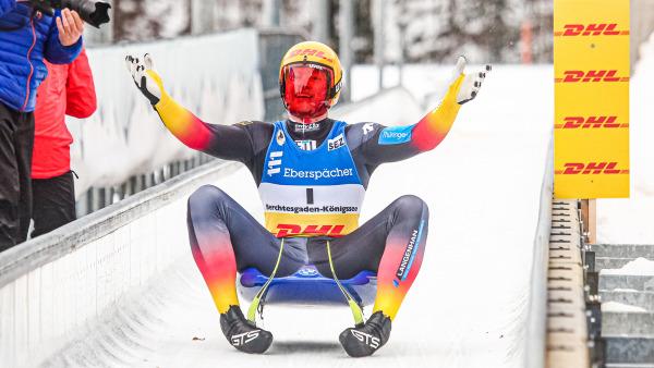 Als zweitbester Deutscher entging Max Langenhahn mit Platz vier knapp dem Podest. Die Medaille gab es für den 21-Jährigen aber dennoch - in der U23-Wertung sicherte er sich Gold. (Foto: FIL/Mareks)