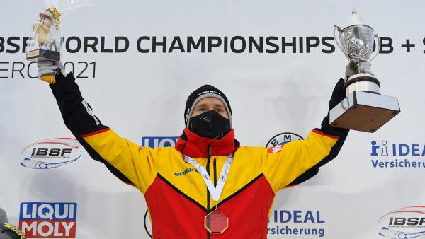 Konnte seinen WM-Titel verteidigen: Christopher Grotheer ist bei Weltmeisterschaften auf den Punkt fit und in Form! (Foto: Viesturs Lacis)