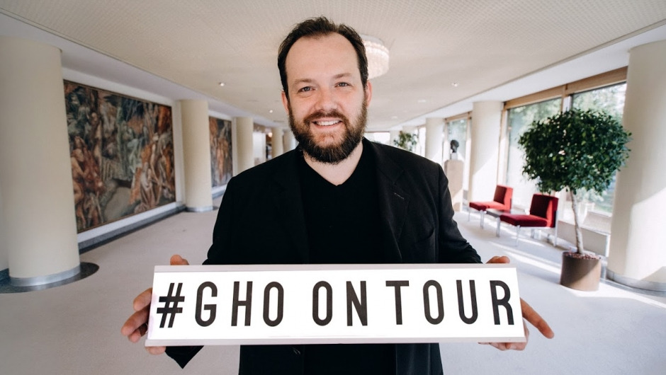 Andris Nelsons promotes GHO on tour