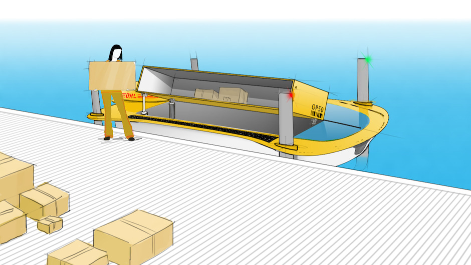 5-cubic-meter cargo hold equals that of many delivery vans